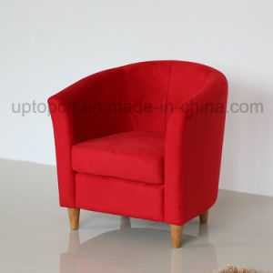 Classical Wooden Frame Furniture Fabric Chair for Restaurant (SP-HC535) pictures & photos