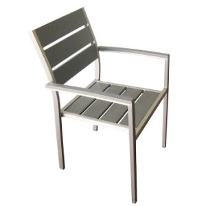 Outdoor Patio Furniture Metal Cafe Polywood Aluminum Bistro Chair Garden for Sale pictures & photos