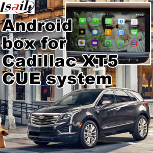 Android 4.4 GPS Navigation Box for Cadillac Xt5 Video Interface Box pictures & photos