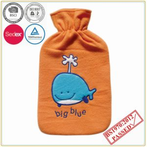 2000ml Hot Water Bottle with Big Fish Design Cover pictures & photos