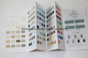 DIY Architecture Various Color System Shade Card Brochure pictures & photos