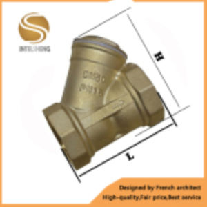 Brass Y Type Filter for General Use pictures & photos