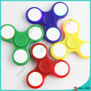 2017 Most Popular ABS LED Light Fidget Spinner Toy Gift Relieve Stress Hand Spinner