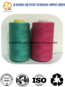 High Quality 100% Spun Polyester Sewing Thread pictures & photos
