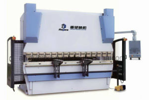 We67k 300t/3200 Dual Servo Electro-Hydraulic CNC Press Brake pictures & photos