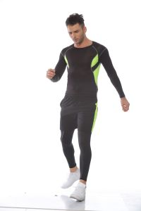 Customized Color Fashion Man′s Outdoor Compression Fitness Gym Sportswear pictures & photos
