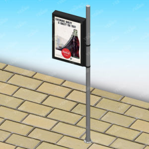Outdoor Street LED Light Lamp Pole Lightbox Advertising pictures & photos