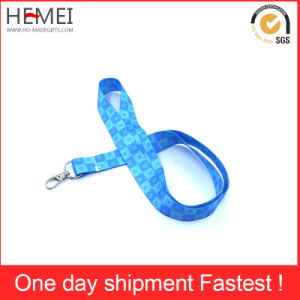 Custom Polyester Lanyard, Ribbon with Plastic Attachment pictures & photos