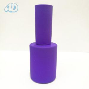 Colorful Pet Glass Nail Polish Bottle Rubber Paint pictures & photos