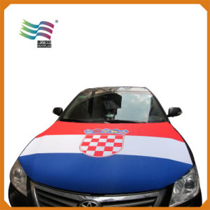 Custom Printing Colourful Advertising Car Hood Cover Flag for SUV pictures & photos