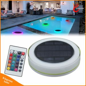 RGB Solar Swimming Pool LED Light Outdoor IP68 Solar Powered Floating LED Decoration Water Light for Garden Party Wedding pictures & photos