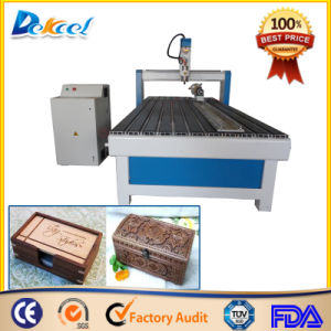 Chinese Economical Wood Box CNC Engraving Router Machine Favoravle Price pictures & photos