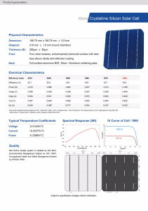 4.5W 156mm Photovoltaic Polycrystalline Silicon Solar Cell pictures & photos