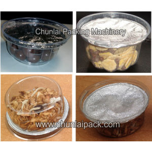 Cereals Cup Filling and Sealing Machine pictures & photos