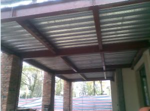 Cost Effective Private Steel Structure Garage pictures & photos