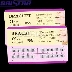 Monoblock Mini Slot 022 Edgewise Dental Bracket pictures & photos