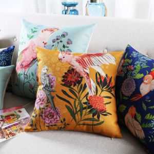 Luxury Cotton Linen Pillow Throw for Living Room Furniture pictures & photos