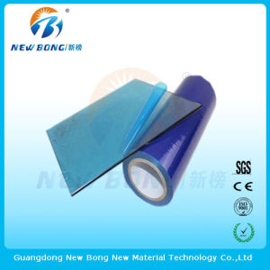 Transparent Blue Color PE Protective Films for Window Glass pictures & photos