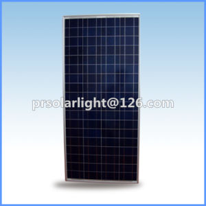 150W High Efficiency Poly Renewable Energy Saving Tempered Glass Solar Panel pictures & photos