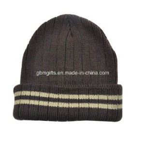 2016 New Style Custom 100% Cotton 3D Embroidery Beanies pictures & photos