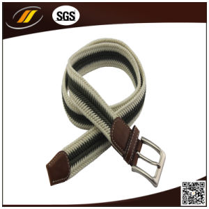 Custom Color Fabric Cotton Casual Woven Belts pictures & photos