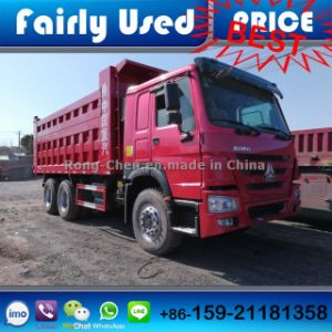 Used Chinese Sinotruck HOWO Dump Truck 6*4 Made in China