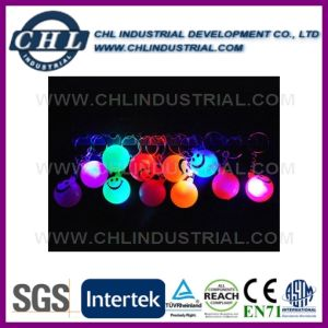 Promotional Factory Direct Flashing TPR Bouncing Ball with Logo Printed pictures & photos