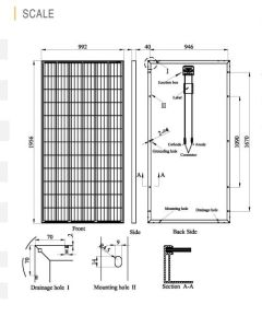 36V Poly Solar Module (300W-325W) German Quality pictures & photos