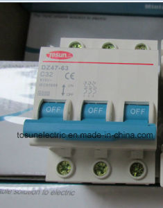 1-3p MCB Miniature Circuit Breaker with CB TUV Ce Approval. pictures & photos