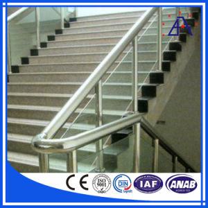 DIN Standard Aluminum Handrail Profile (BA3654) pictures & photos