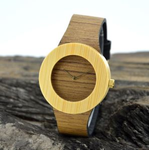 Nobility Wood Grain Wooden Watch pictures & photos