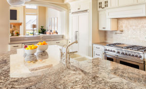 Whole Sale Kitchen Countertop with Kitchen Cabinets pictures & photos