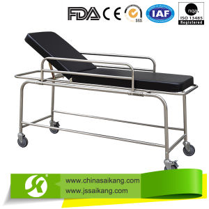 China Online Shopping Comfortable Hosptial Patient Trolley pictures & photos