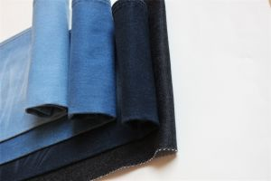 Cotton Polyester Spandex Brushed Denim pictures & photos