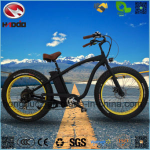 750W Fat Tire Electric Beach Bike with Lithium Battery pictures & photos