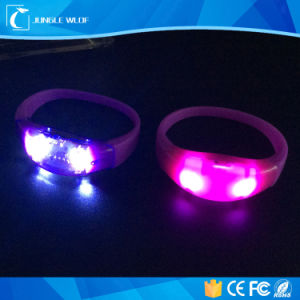 Wholesale Party Supplies Printing Logo Cheap LED Bracelet pictures & photos
