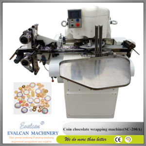 Chocolate Coin Foil Wrapping / Packing Machine pictures & photos