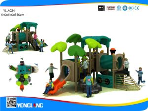 Train Theme and Climber Combined Slide Outdoor Play Equipment (YL-A024) pictures & photos