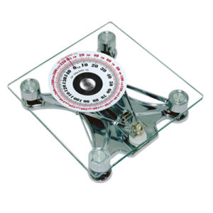 150kg Sqare Glass Large Dial Analogue Household Scale pictures & photos