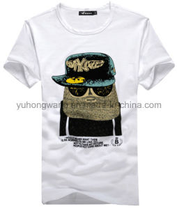 High Quality Cotton Men′s Printed T-Shirt pictures & photos