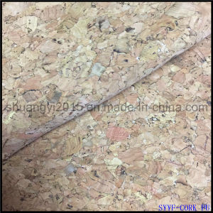 Natural Cork with PU Leather for Bags Shoes pictures & photos