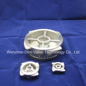 Pn40 High Quality Stainless Steel Wafer Check Valve China Supplier pictures & photos