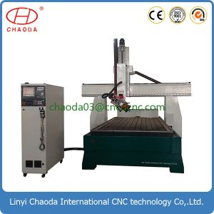 Electric CNC Carving Router for 3D Wooden Statue pictures & photos