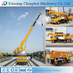 Best Sellling Used Hydraulic Boom Industrial Crane with Truck pictures & photos