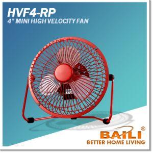4 Inch Mini USB / AC Desk Fan, High Velocity Fan, Multi-Color pictures & photos
