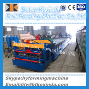 Glazed Metal Roof Producing Machine Metal Steel Sheet Rolling Machine pictures & photos