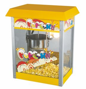 Stainless Steel Big Popcorn Machine with Wheels pictures & photos