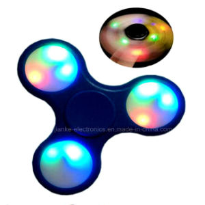 Custom LED Light Finger Spinner with Logo Printed (6000B) pictures & photos