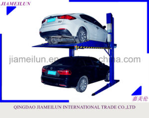 Two Column 2 Cars Space Hydraulic Parking Lift pictures & photos