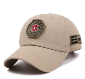 High Quality Woven Badge Cotton Cap pictures & photos
